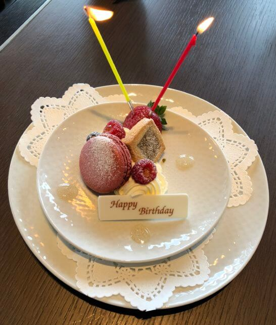 ザ・リッツ・カールトン東京のタワーズの誕生日スイーツ
