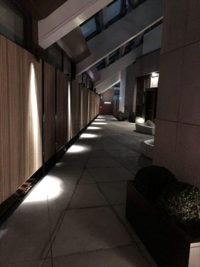 アンダーズ東京の52階の通路