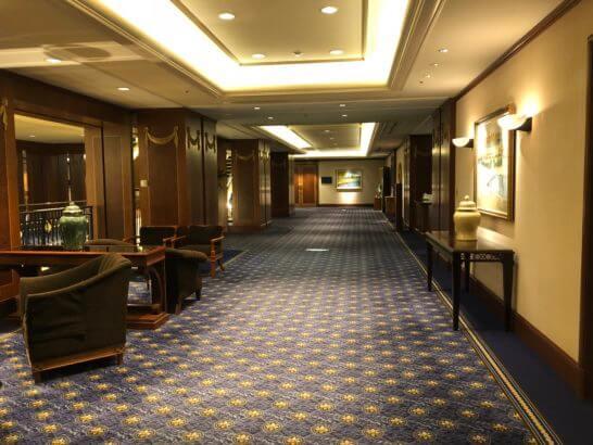 恵比寿のウェスティンホテル東京のB1F