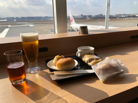 福岡空港のダイヤモンド・プレミアラウンジ