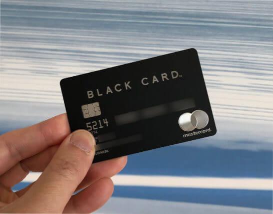 ラグジュアリーカードのブラックカード