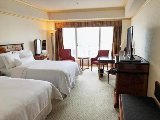 ウェスティンホテル東京の14Fのツインルーム