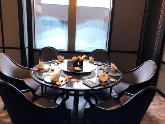 中国料理 龍天門の個室
