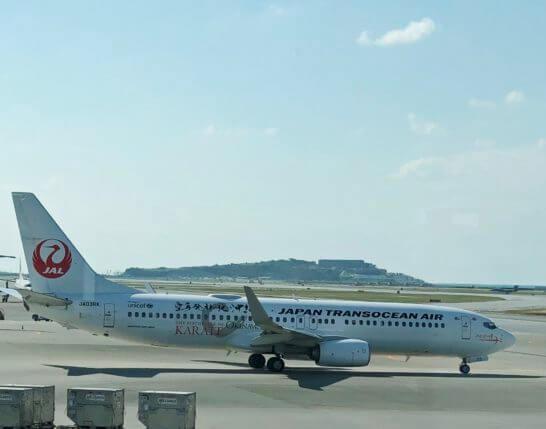 日本トランスオーシャン航空(JTA)の飛行機