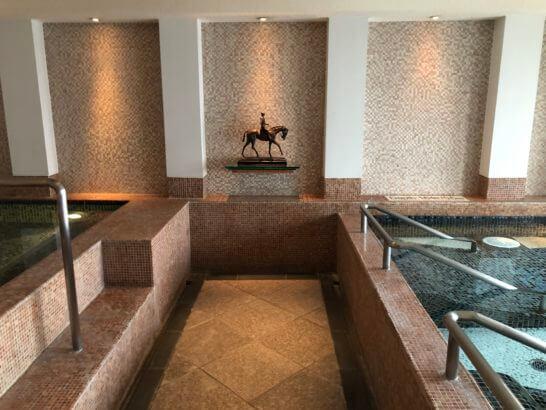 ウェスティンホテル東京のル・スパ・パリジエンのジャグジー