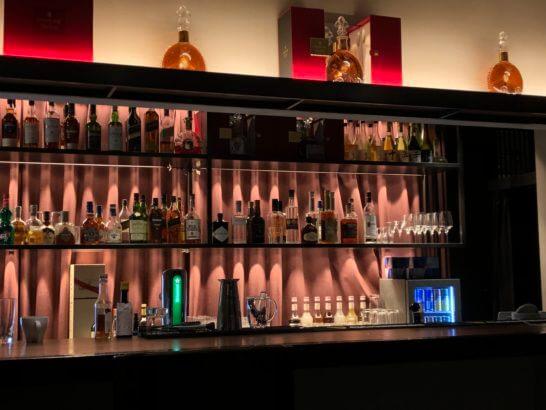 Sankeys PENTHOUSEのVIPルームの高級酒