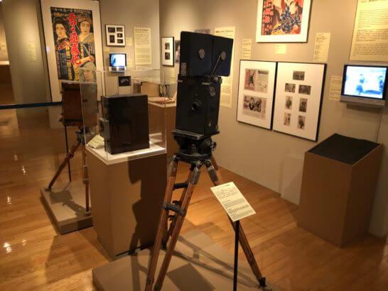 国立映画アーカイブ7F展示室の展示物 (2)