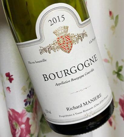 ドメーヌ・リシャール・マニエールのワイン