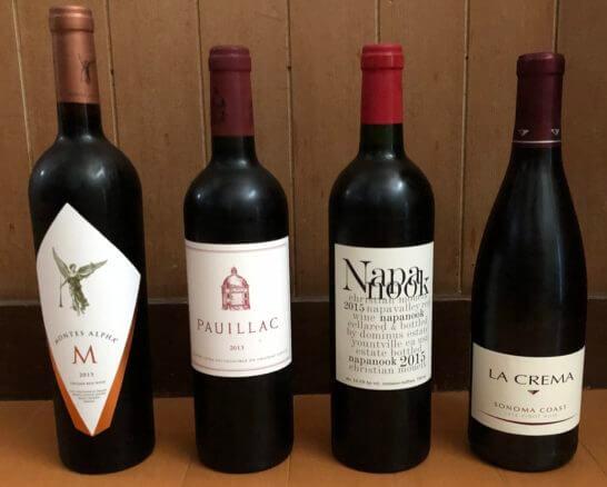 エノテカで購入したワインセット