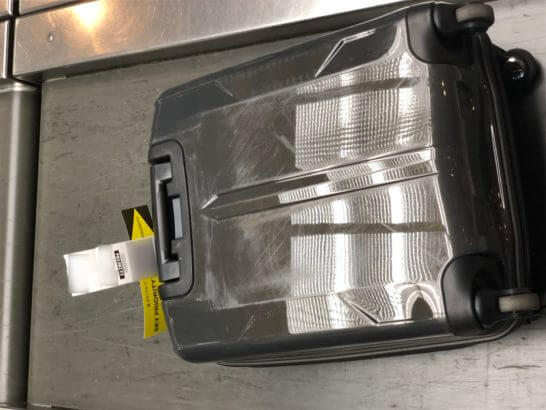 デルタ航空ゴールドメダリオンの優先手荷物取り扱い プライオリティタグ「SKY PRIORITY」
