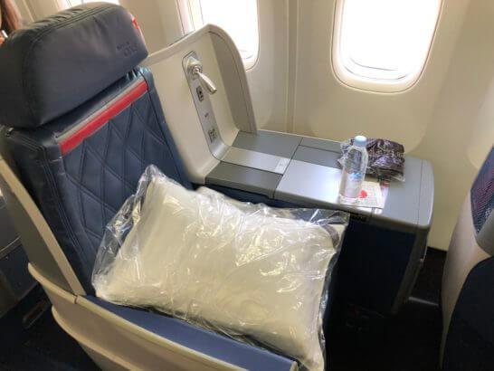 デルタ航空のビジネスクラス