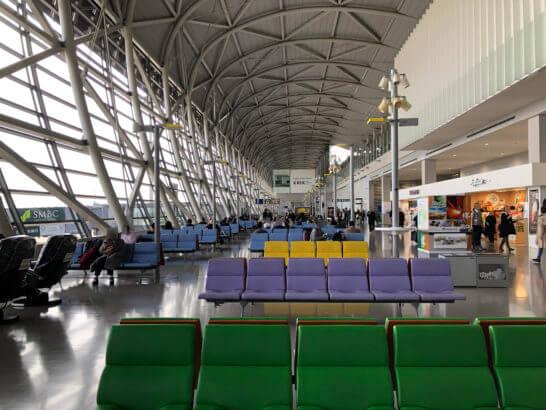 関西国際空港の国内線出発・到着フロア