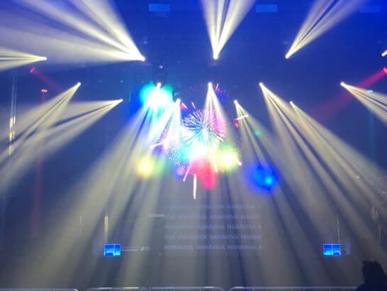 アメックス花火大会2019 HANAVIVAのDJパフォーマンス