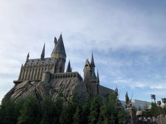 USJのウィザーディング・ワールド・オブ・ハリー・ポッターエリアのホグワーツ城