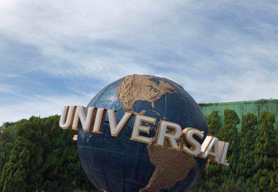 USJの地球儀