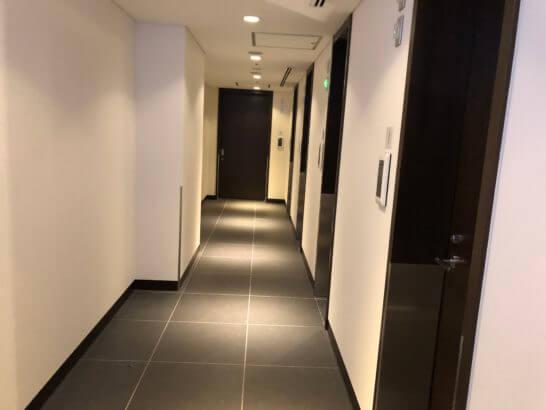 羽田空港サクララウンジのシャワールーム(南ウイング)