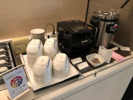 ANAラウンジ(羽田空港国際線)のカレー・ご飯