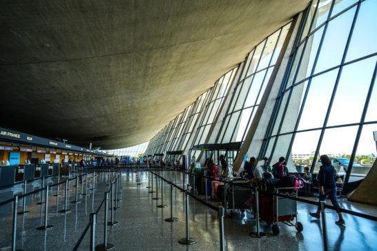 アメリカのダレス国際空港 (2)