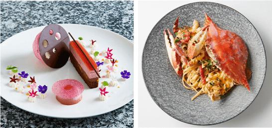第10回ザ・クラス 名食倶楽部の料理とスイーツのイメージ