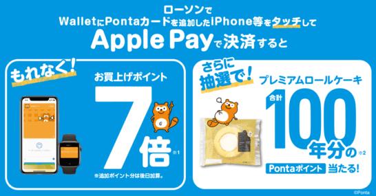 ローソンのApple Payキャンペーン