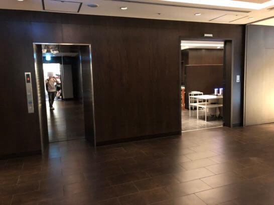 羽田空港のファーストクラス・ダイヤモンド・JGCプレミア専用の保安検査場 (1)