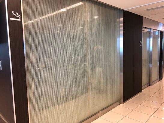 ANAラウンジ 羽田空港国内線(本館南)の喫煙室