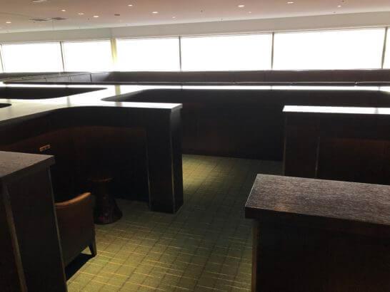 羽田空港国内線サクララウンジの「プライベート&リラックス」エリア