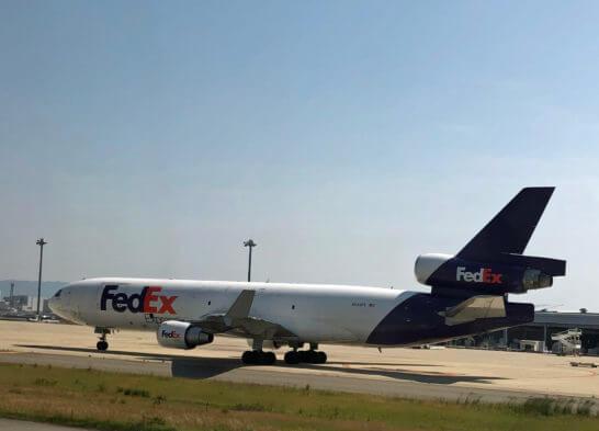 FedEx(フェデックス)の飛行機