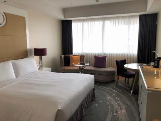 東京マリオットホテルのスーペリアキング