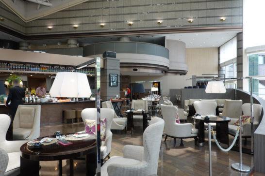東京マリオットホテルのレストラン「ラウンジ&ダイニングG」