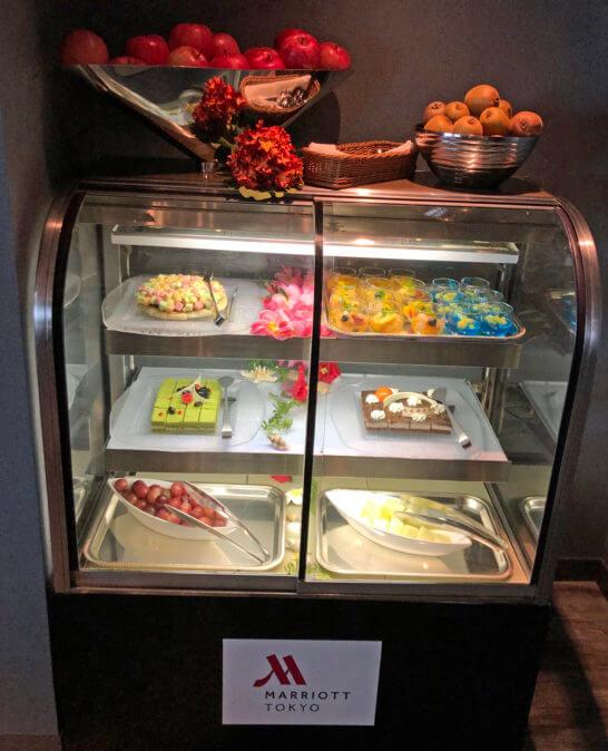 東京マリオットホテルのデザート類