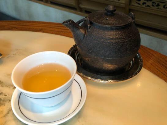 ザ・ペニンシュラ東京のヘイフンテラスのお茶