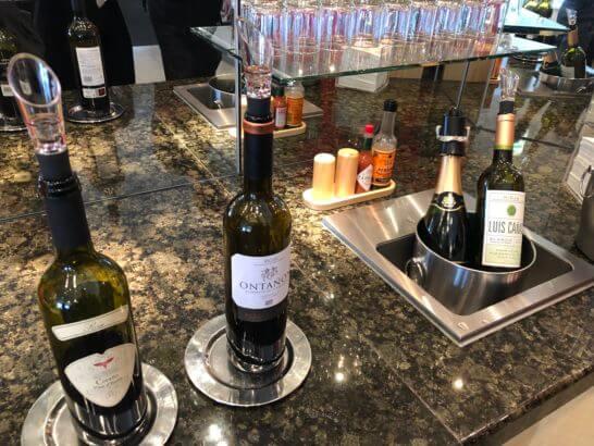 デルタスカイクラブ(成田空港)のワイン類