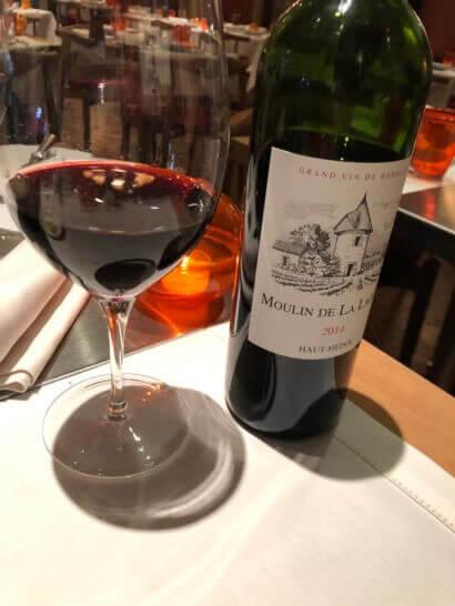 ビストロブノワの赤ワイン