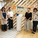 マネーフォワードの西方さん、中村さん、田中さん、稲増さん