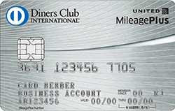 MileagePlus ダイナースクラブカードのビジネス・アカウントカード