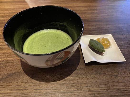 東京離宮 センチュリオンラウンジの抹茶