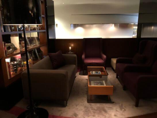六本木ヒルズクラブのの座席 (2)