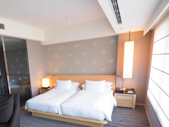 ザ・キャピトルホテル 東急のエグゼクティブスイートのベッドルーム