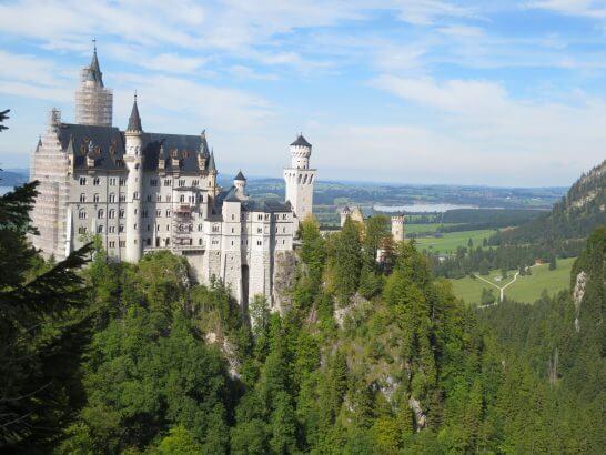 ドイツのノイシュバンシュタイン城