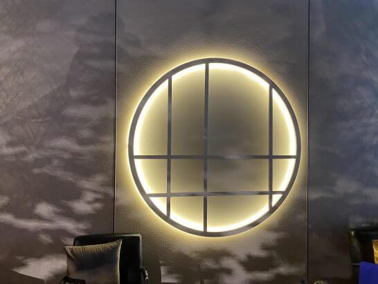東京離宮 センチュリオンラウンジの和の模様