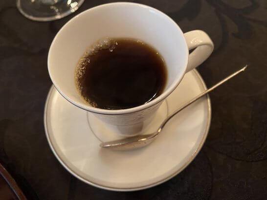 SPGアメックスのスペシャルディナーイベント「Kanazawa Sonoma」のコーヒー