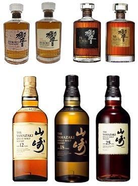 響・山崎の熟成ウイスキー