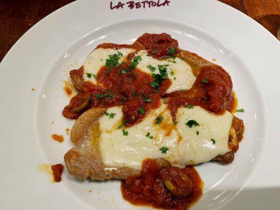 ラ・ベットラ・ダ・オチアイ 西武池袋店での食事 (2)