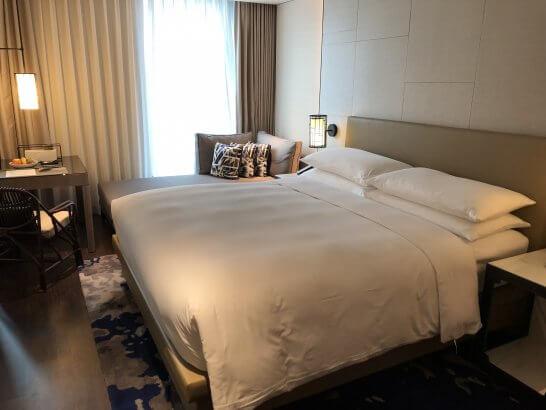 ルネッサンス台北士林ホテルのキングルーム