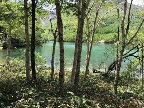 上高地の湖