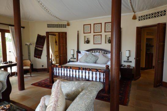 アルマハラグジュアリーコレクションホテルの客室
