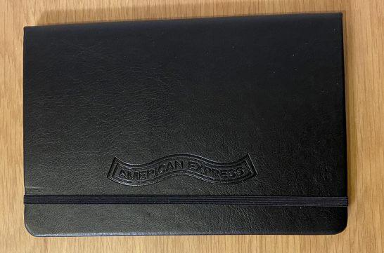 アメックスセンチュリオンのノート (3)