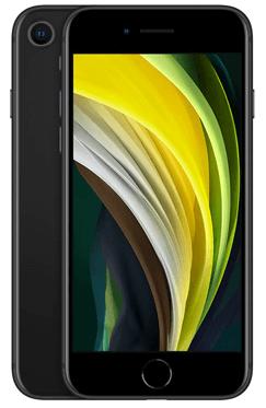 2020年のiPhone SE(ブラック)