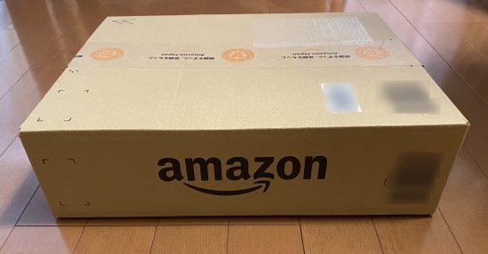 Amazonのダンボール